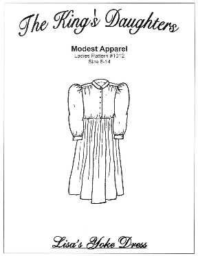 Lisa's Yoke Dress