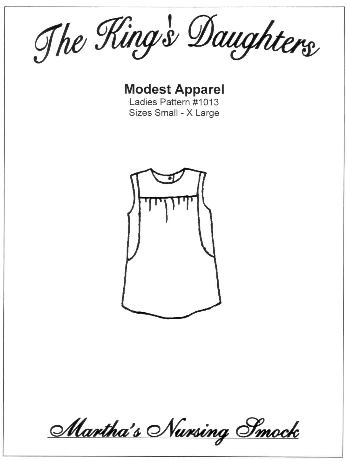 Martha's Nursing Smock Pattern