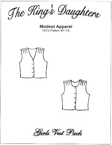 Girls Vest Pack
