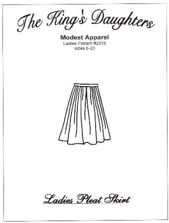 Ladies Pleat Skirt