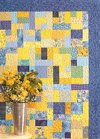 Yellow Brick Road - Quilt pattern-Yellow Brick Road - Quilt pattern