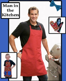 Man in the Kitchen - Apron & Mitt-Man in the Kitchen - Apron & Mitt