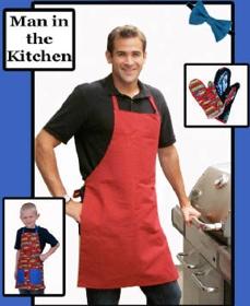 Man in the Kitchen - Apron & Mitt-Man in the Kitchen - Apron & Mitt