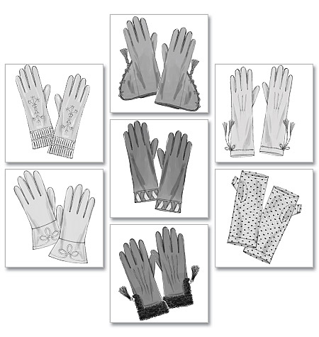 Historical Gloves pattern-Historical Gloves pattern