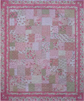 Sweet Sixteen - a Fat Quarter Quilt-Sweet Sixteen - a Fat Quarter Quilt