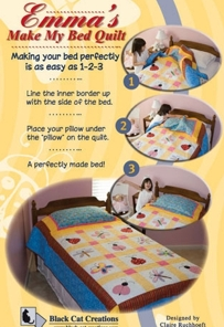 Emma's Make my Bed Quilt-Emma's Make my Bed Quilt