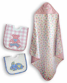Flannel Softs - Bibs & Blankets-Flannel Softs - Bibs & Blankets