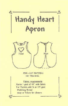 Handy Heart Apron-Handy Heart Apron
