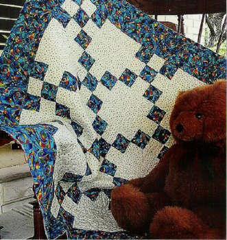 Simple Nine Patch - Quilt pattern