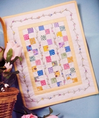 Merry Miniatures - Baby Steps Quilt pattern-Merry Miniatures - Baby Steps Quilt pattern