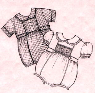 Daniel Infant Romper Pattern