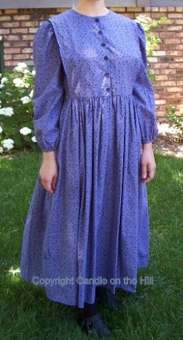 Country Cape Dress Pattern
