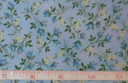 Benartex - True Blue - Dolly Garden Blue/Blue-Benartex - True Blue - Dolly Garden Blue/Blue