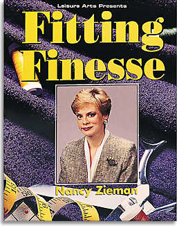 Fitting Finesse by Nancy Zieman-fitting finesse, fitting, pattern fitting, dressmaking, book, books, nancy zieman, sewing, pattern