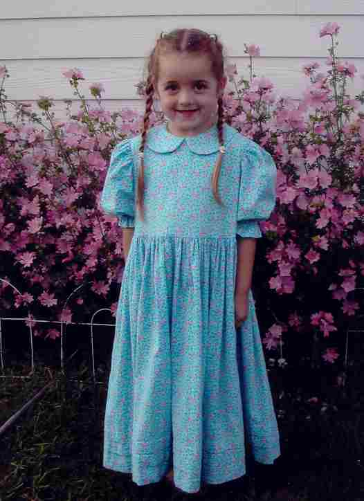 Girl's Value Pattern Set-pioneer, frontier, girls modest clothing, pinafore, girls dresses, patterns, modest, laura ingalls,