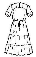 """Gracefull"" Dress Pattern-Friends Patterns, Gracefull Dress, nursing dress, nursing dresses, amish dress, amish patterns,"