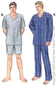 Kwik Sew� Men's Pajamas-Kwik Sew� Men's Pajamas
