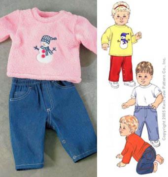 Kwik Sew® Baby Pants & Shirts