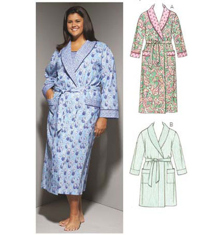 Kwik Sew Women's Robes pattern