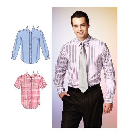 Kwik Sew Men's Shirts pattern