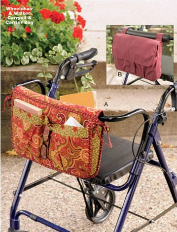 Kwik Sew� Wheelchair & Walker Carryall pattern
