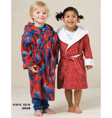 Kwik Sew Toddler's Robe pattern-Kwik Sew Toddler's Robe pattern