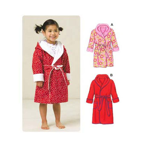 Kwik Sew Toddler's Robe pattern