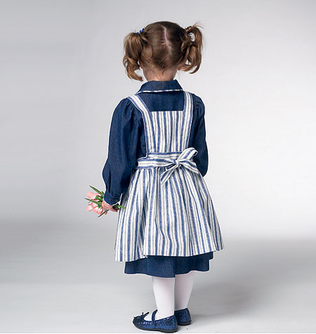 Kwik Sew Toddler's Dress & Apron pattern