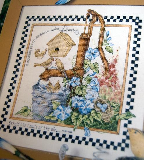 Garden of Miracles - Cross stitch designs