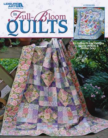 In Full Bloom Quilts book
