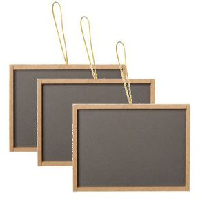 Mini Chalk Boards - set of 3