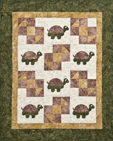 Turtle Turtle Quilt / Wall hanging