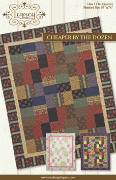 Cheaper by the Dozen - Quilt pattern