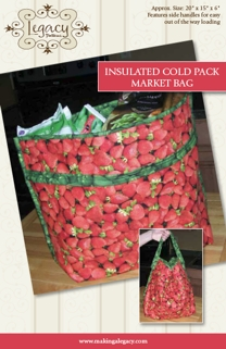 Insulated Cold Pack Market Bag