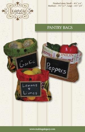 Pantry Bags Pattern