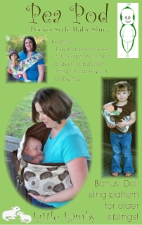 Pea Pod Baby Sling-Pea Pod Baby Sling