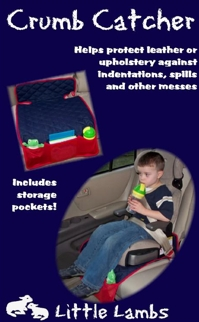Crumb Catcher - protective carseat pad