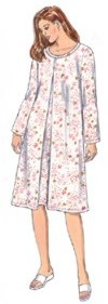Kwik Sew Nursing Nightgown Pattern-nursing nightgown, kwik sew, kwiksew, nursing patterns, pattern, breastfeeding pattern, nightgown pa