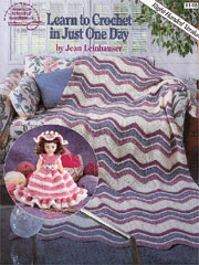 Learn to Crochet in Just One Day-learn to crochet in just one day, learn to crochet, how to crochet, crochet, lessons, lesson, book
