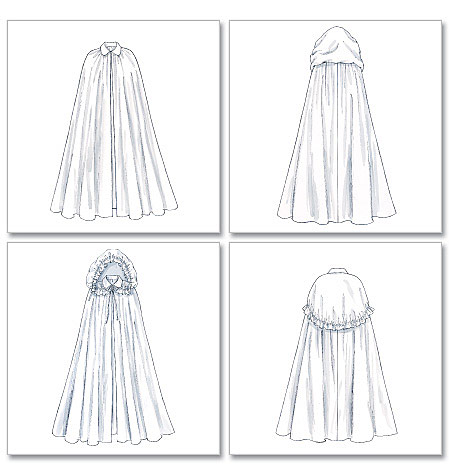 Ladies Capes pattern