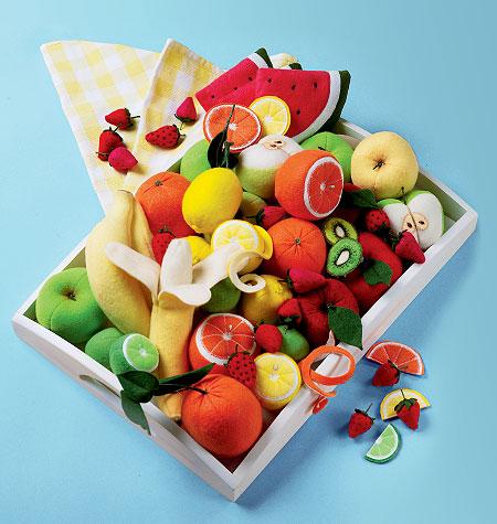 Felt Fruit Collection pattern