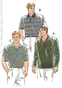 Kwik Sew® Men's Casual Shirt Pattern