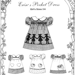 Erin's Pocket Dress - Girls sizes 2-6-Erin's Pocket Dress - Girls sizes 2-6