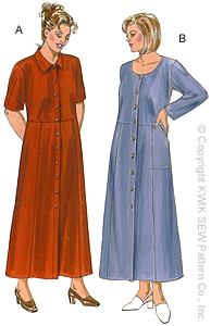 Modest sewing patterns for plus size ladies - photo #27