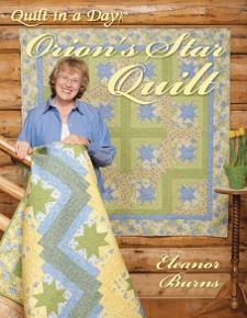 Orion's Star Quilt by Quilt in a Day