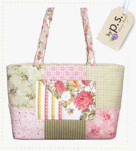 Mini Charmer Tote - made from Charm Squares
