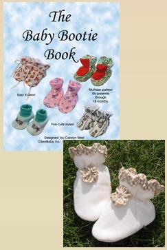 Baby Booties Pattern Book-bootie patterns, booties pattern, booties patterns, baby booties, how to make, patterns for booties,