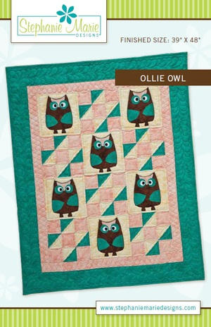 Ollie Owl Quilt pattern