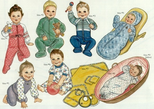 Nighty Nights - Baby Sleepwear-Nighty Nights - Baby Sleepwear