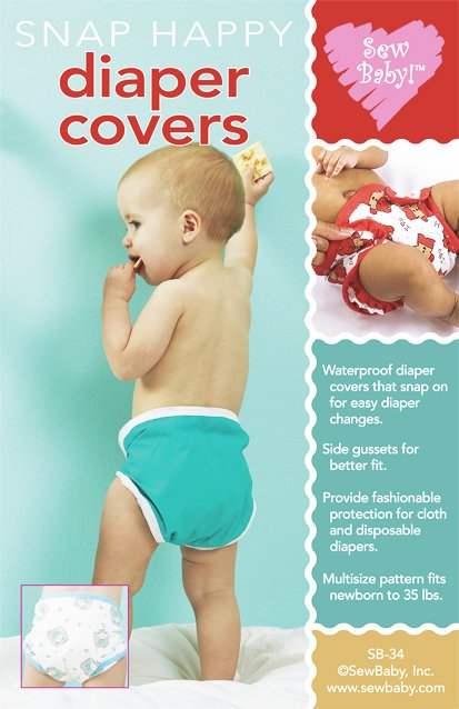 Snap Happy Diaper Cover Pattern-Snap happy diaper cover, diaper covers, pattern, diaper cover, patterns, sewbaby, sew baby